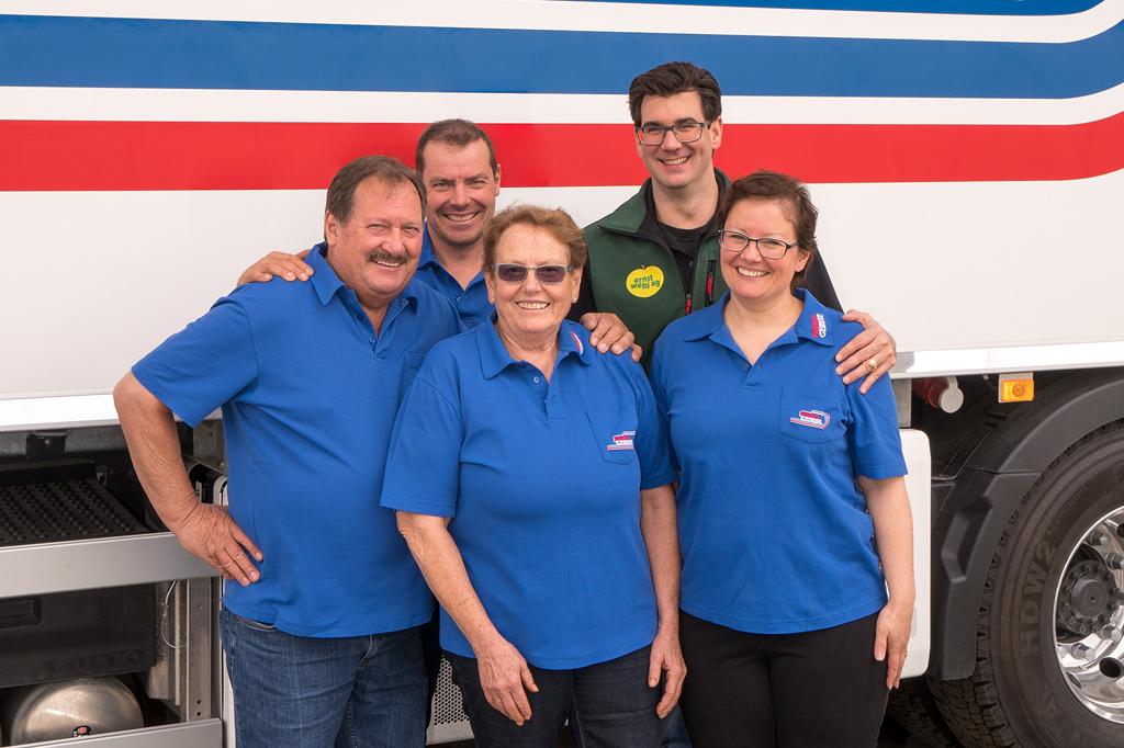 Bernhard Hug & Familie Friedli