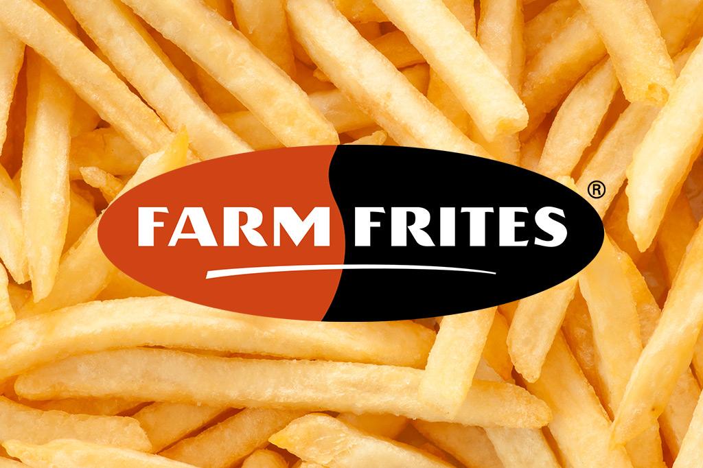 """Farm Frites """"Euses Pommfrit"""", Pommes Frites"""