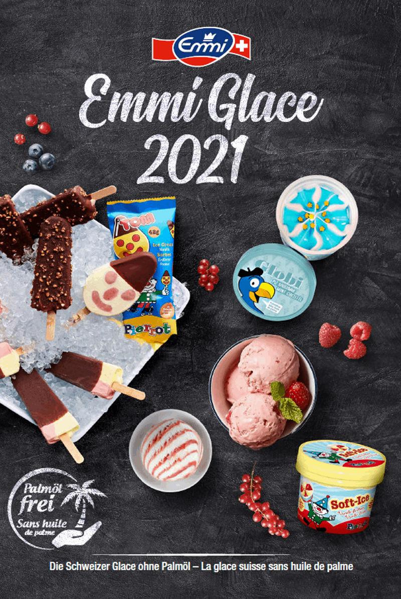 Produktsortiment Katalog Emmi Glace 2021