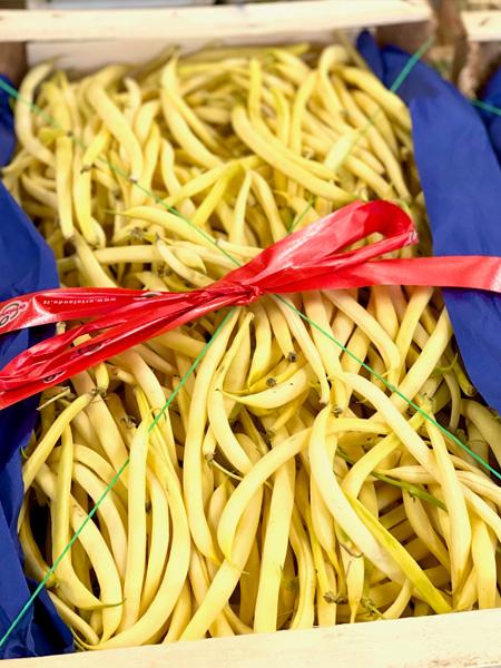 Gelbe Bohnen aus Italien