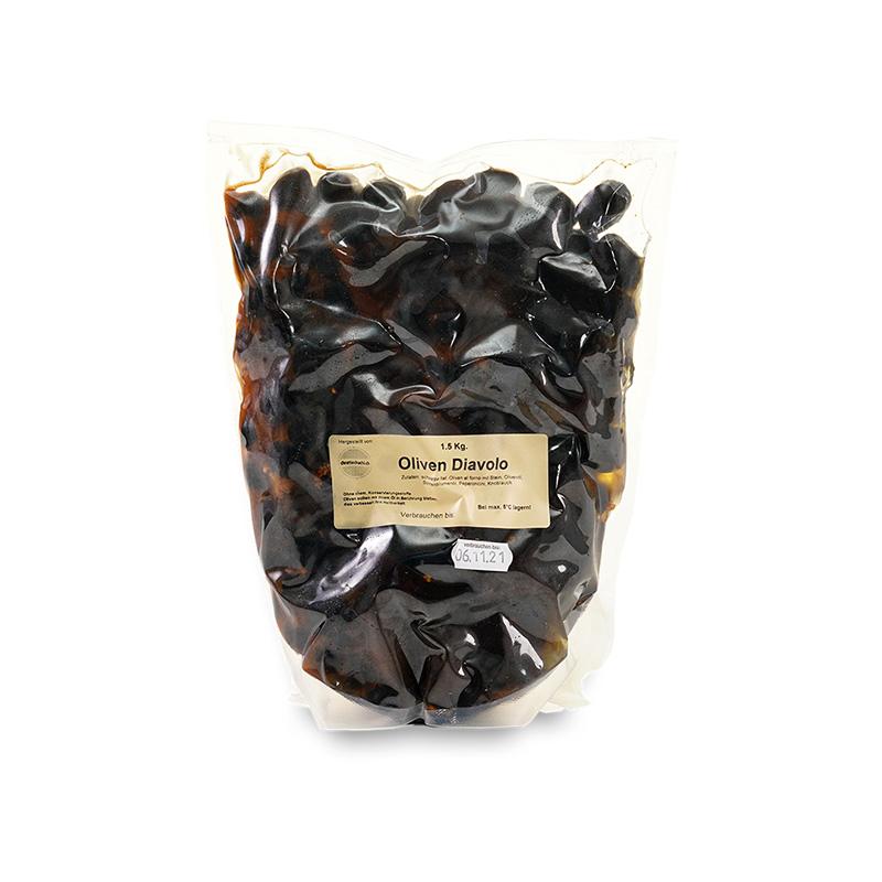 Oliven Diavolo 1.5kg