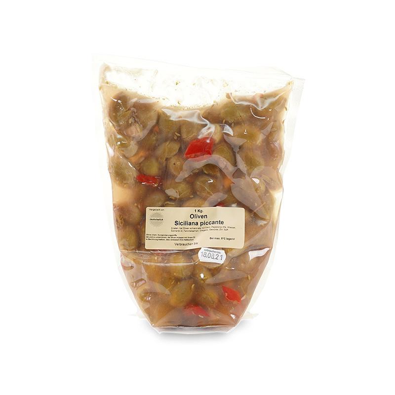 Oliven Siciliana piccante 1kg