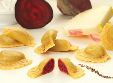 Bon Pastaio Rustico cappelletti rape rosse
