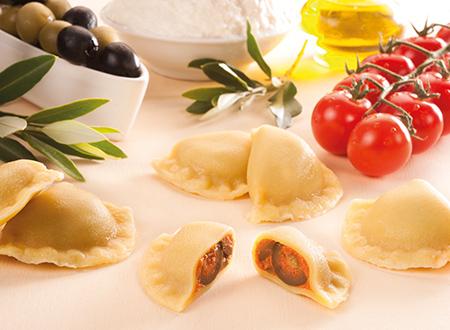 Bon Pastaio Rustico olive e pomodori