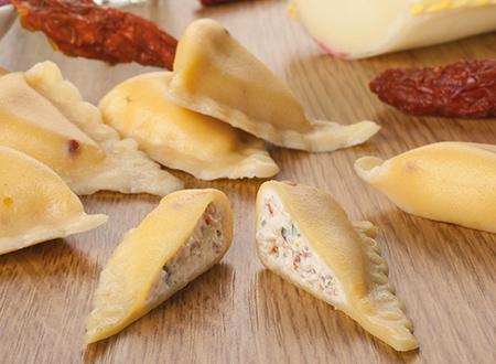 Bon Pastaio Rustico provolone e pomodori