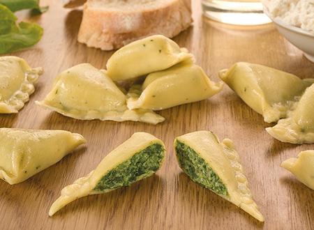 Bon Pastaio Rustico Triangolo spinaci