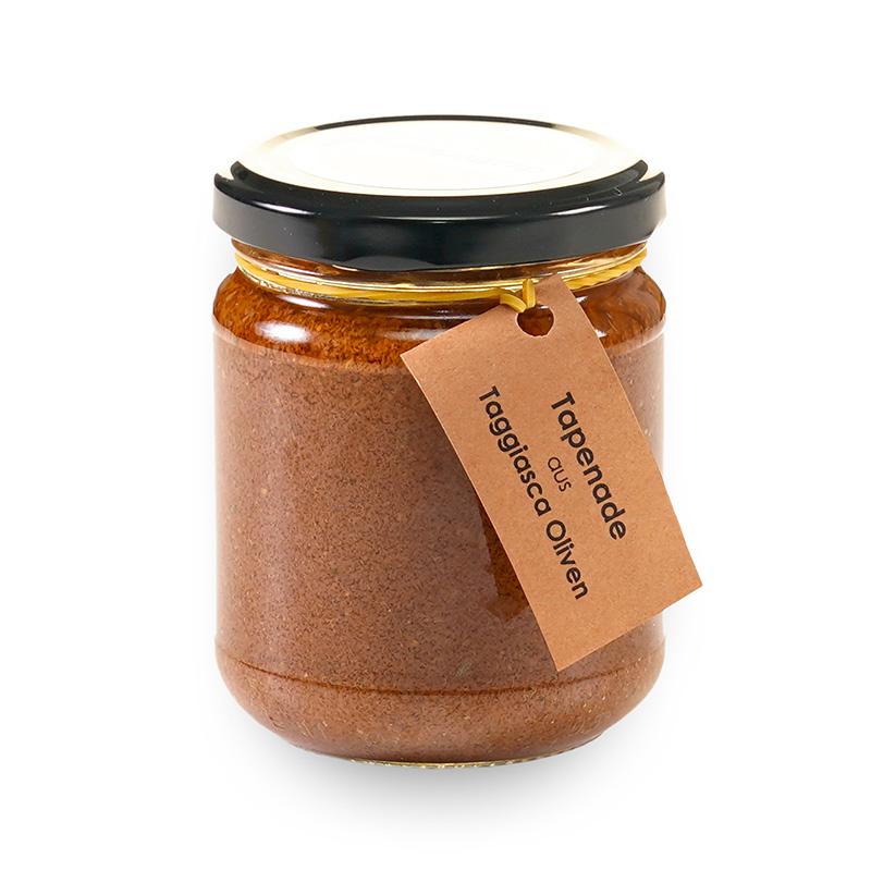 Tapenade aus Oliven schwarz - ChratteChuchi