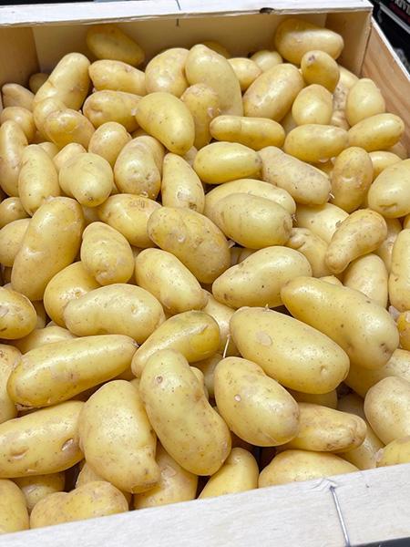 La Ratte Kartoffeln aus Frankreich
