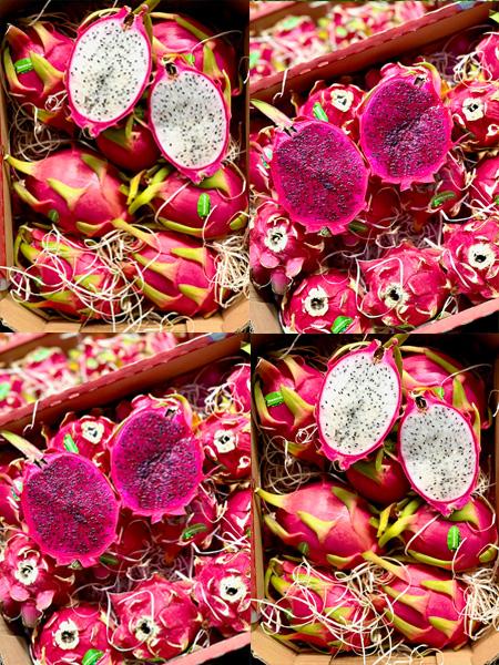 Pithaya-Drachenfrucht aus Spanien