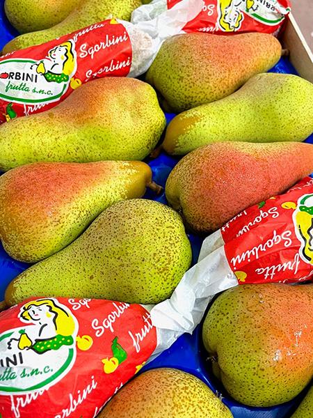 Abate Birnen aus Italien