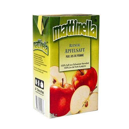 Apfelsaft Mattinella 1l Tetra Pack